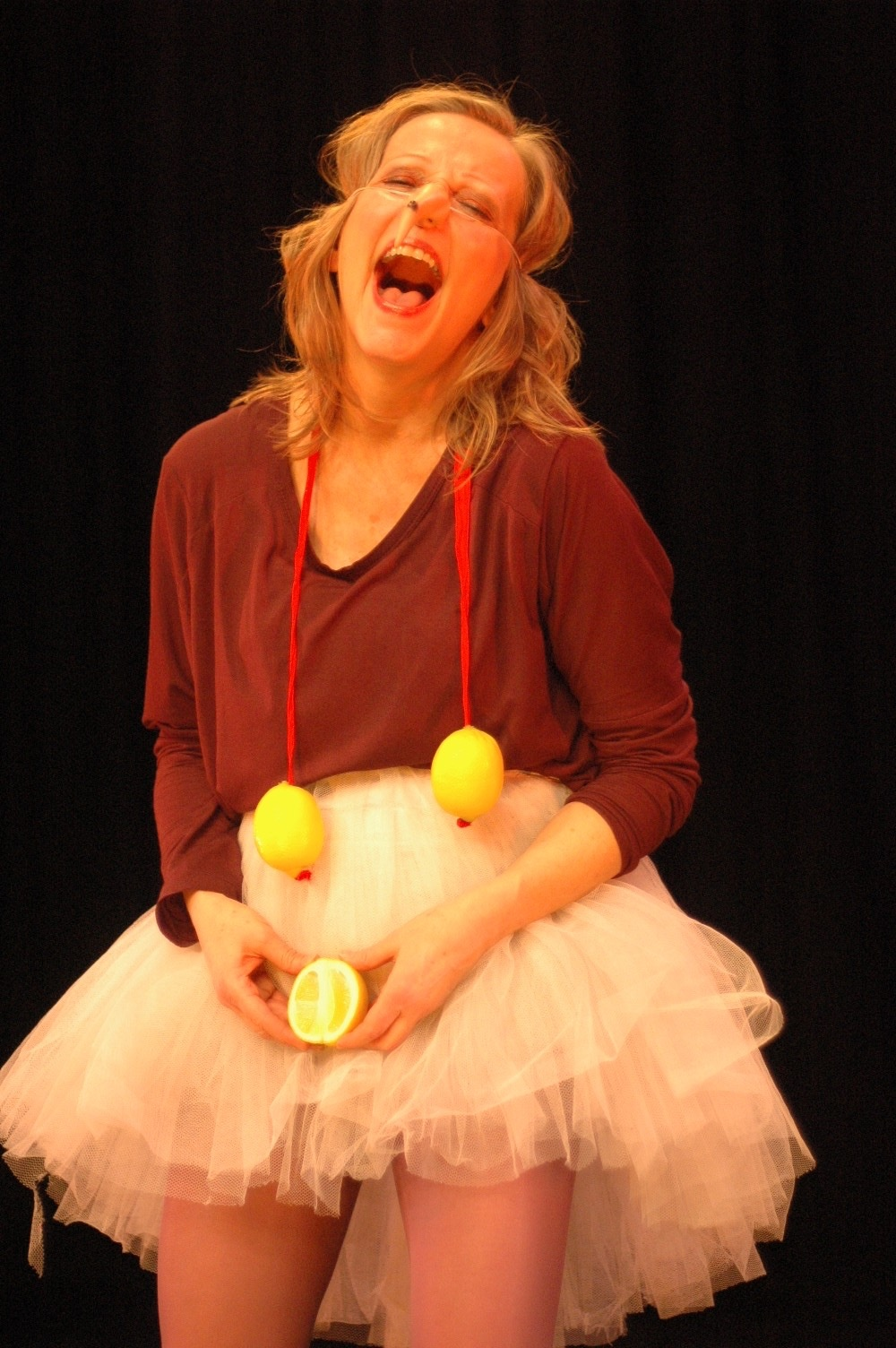 Physical Fest: Peta Lily – Get Smart, Get Stupid: Red Nose Clown workshop