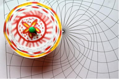Chapel Gallery: Spinners and Spirographs, family workshop