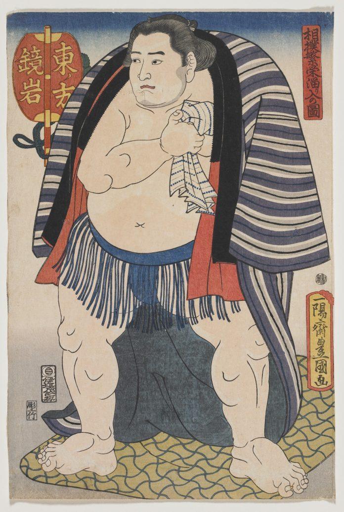 edo pop: Kakamiwa of the West Side 1847 by Utagawa Kunisada, Collection: Frank Milner