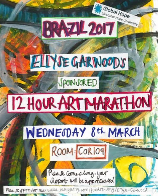 Cornerstone: Ellyse's 12 hour art marathon