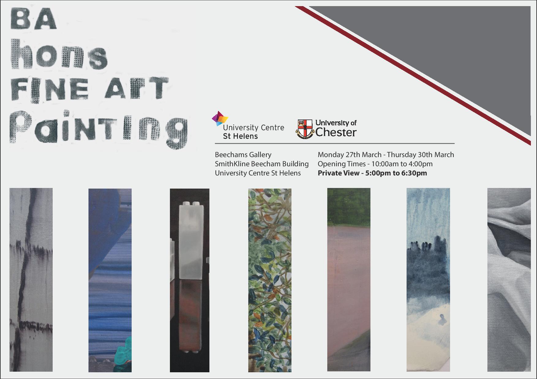 Beechams Gallery: BA hons FINE ART Painting