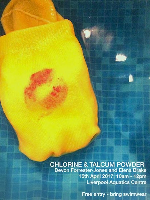 Liverpool Aquatics Centre: Chlorine and Talcum Powder, Devon Forrester-Jones