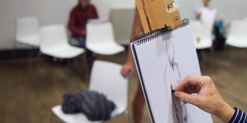 Bluecoat: dot-art: Life Drawing