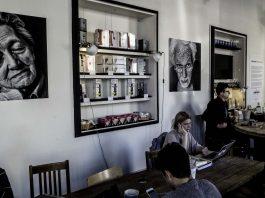 92degrees Coffee: Interrupted Conversations, John Hollingsworth