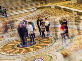 St George's Hall, Minton Tiled Floor. photos, Thomas Ava
