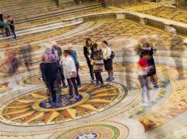 St George's Hall, Minton Tiled Floor. photos, Thomas Ava