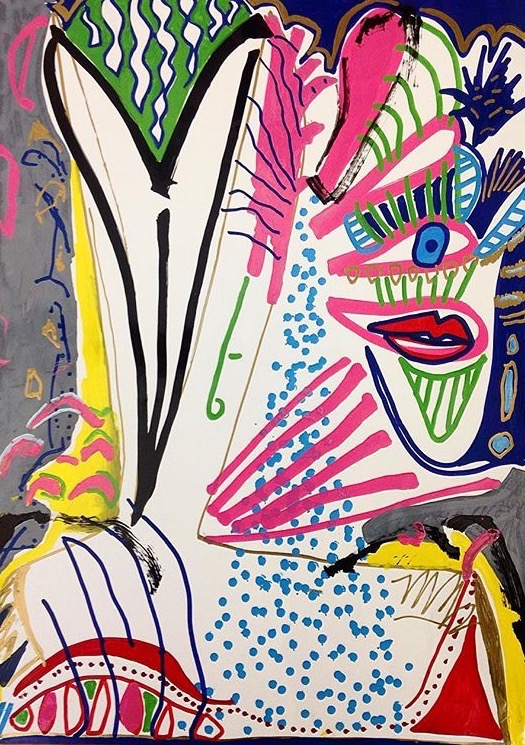 Cass Art: Experimental Drawing Workshop - Mixed Media Portraits with Stacey Finley