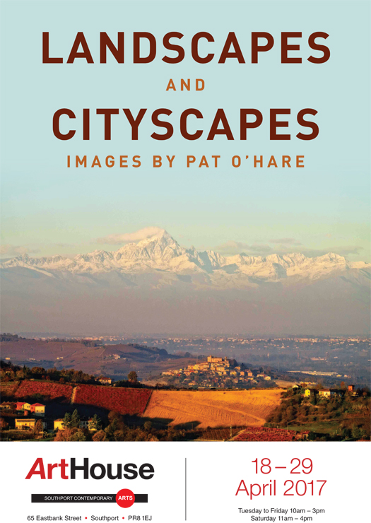 ArtHouse Gallery Cityscapes and Landscapes, Pat O'Hare