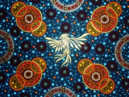Chester Art Centre: Andrew Lloyd, Neo-Aboriginal Style Painted Mandalas
