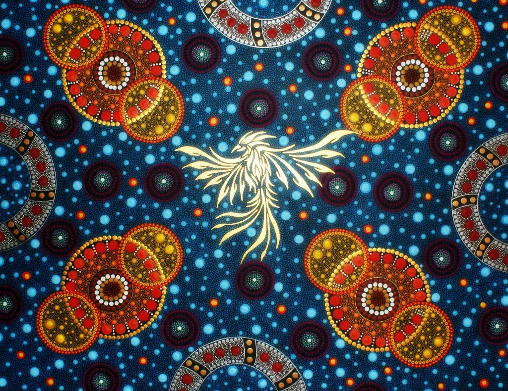 Chester Art Centre: Andrew Lloyd, Neo-Aboriginal Style Painted Mandalas