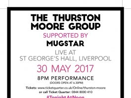 St George's Hall: The Thurston Moore Group: LIVE