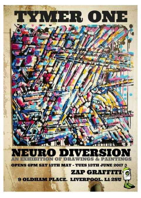 ZAP Graffiti: TYMER. NEURO DIVERSION