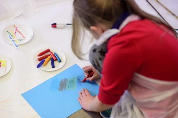 Tate Liverpool: Creative Studio, Autism Friendly Session