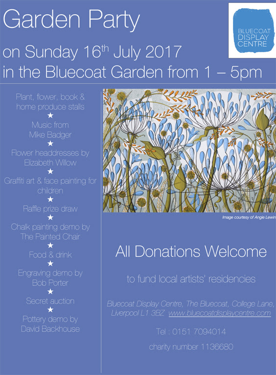 Bluecoat Display Centre: Summer Garden Party
