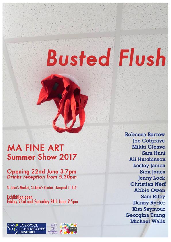 St Johns Market: Busted Flush, MA Fine Art Summer Show