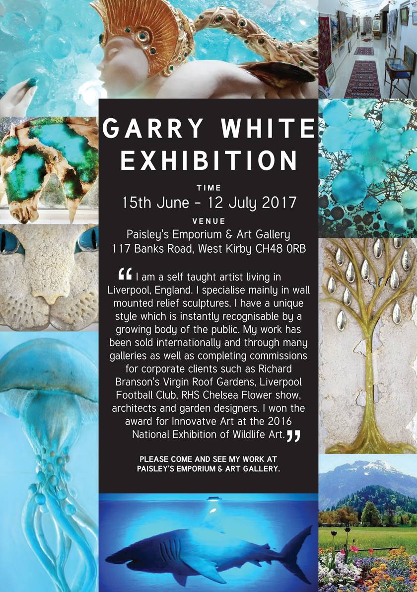 Paisley's Emporium and Art Gallery: Garry White Art Exhibition