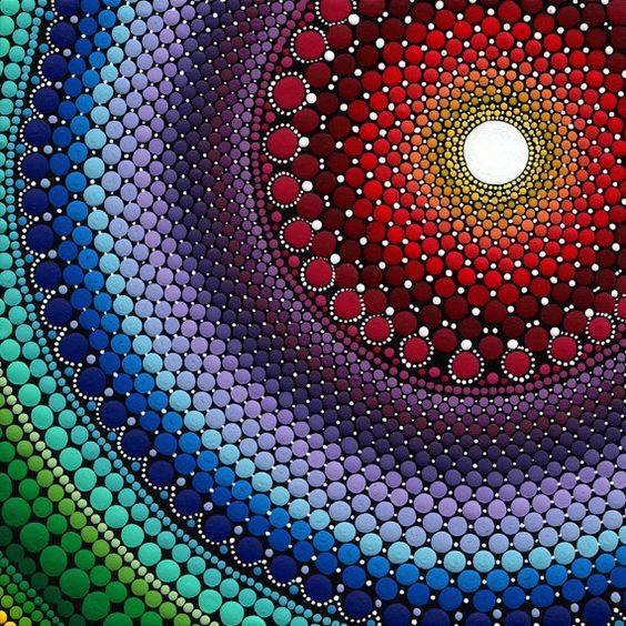 Roast Coffee, Crosby: Big Art Club - Dot Art Painting