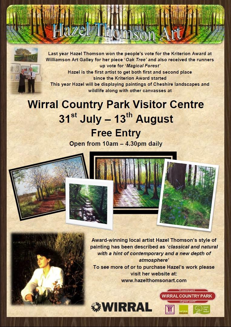 Wirral Country Park: Hazel Thomson Art