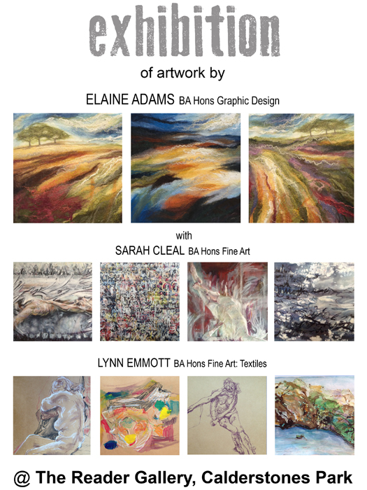 Reader Gallery: Elaine Adams, Sarah Cleal and Lynn Emmott