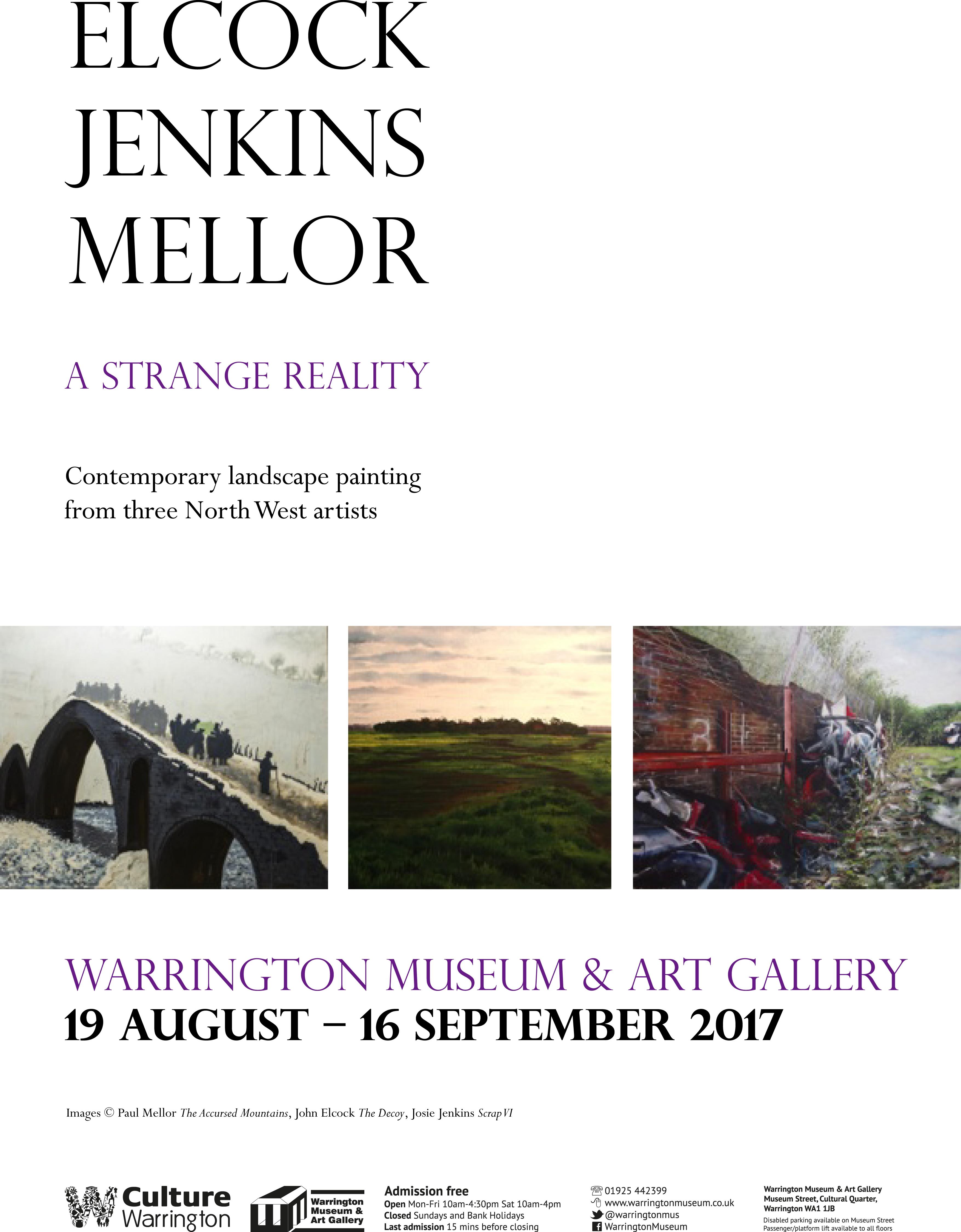 Warrington Museum & Art Gallery: STRANGE REALITY: Meet the Artists