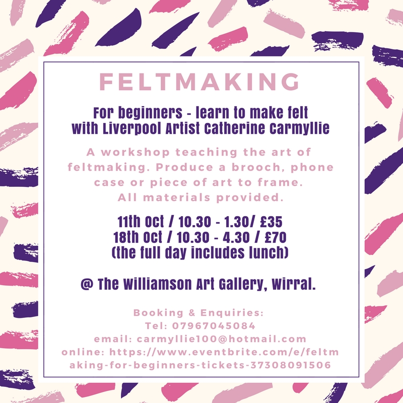 Williamson Gallery & Museum: Feltmaking For beginners