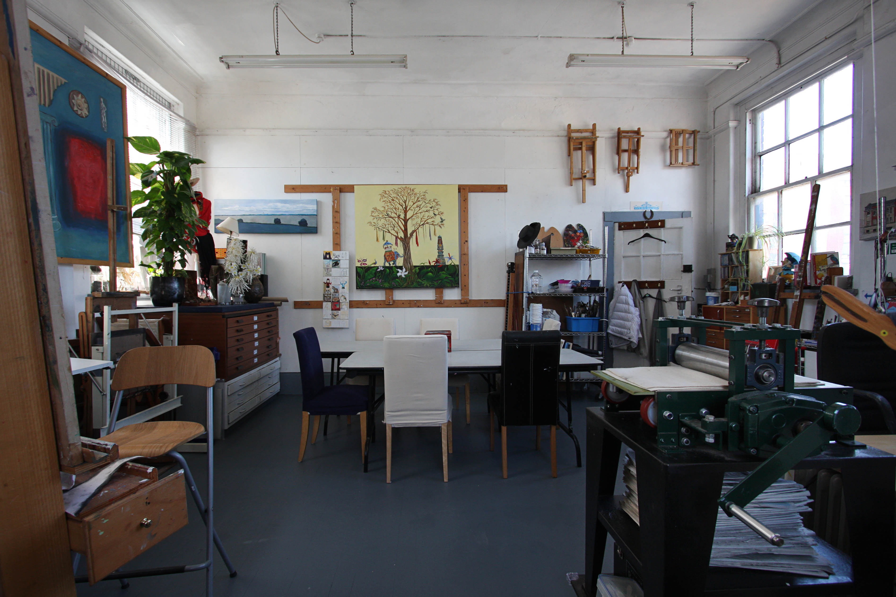 Bridewell Studios: Drawing, Painting & Printmaking classes