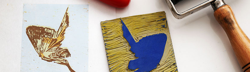 Lady Lever Art Gallery: Lino-Printing Workshop