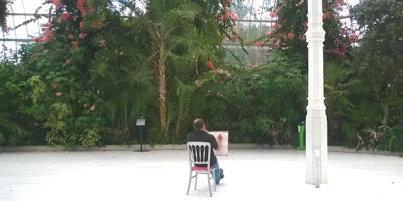 Sefton Park Palm House: Drawing in the Palm House (7 Week Course)