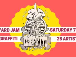 Zap Graffiti: Backyard Jam: Live Graffiti art