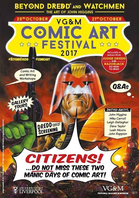 Victoria Gallery & Museum: Comic Art Festival