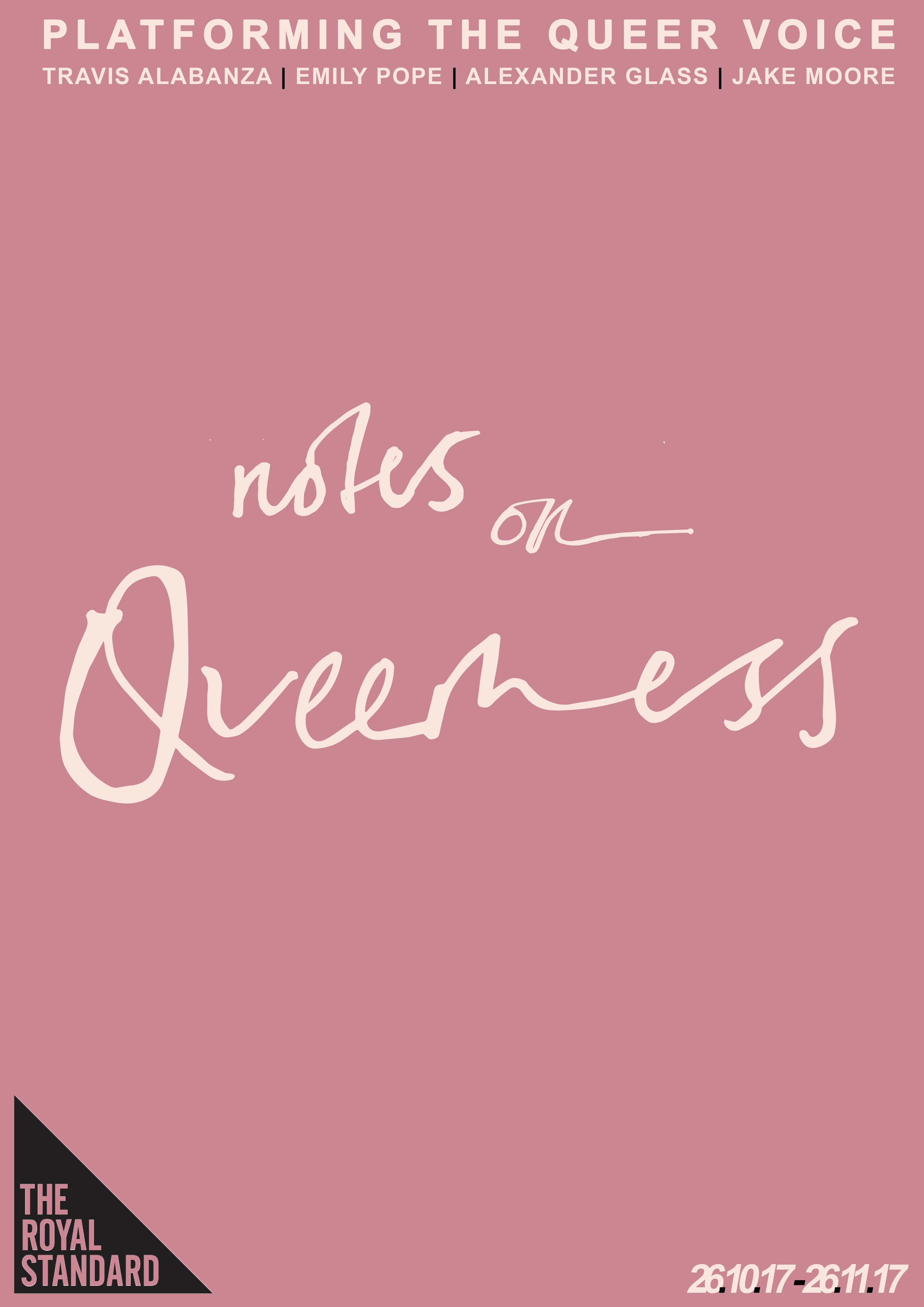 The Royal Standard: Notes on Queerness