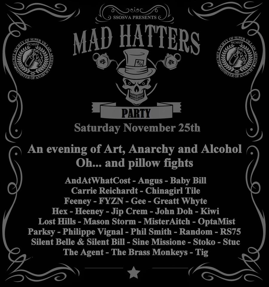 HUS: The Madhatters Party