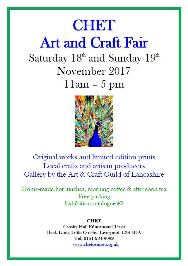 CHET: Art and Craft Fair Saturday