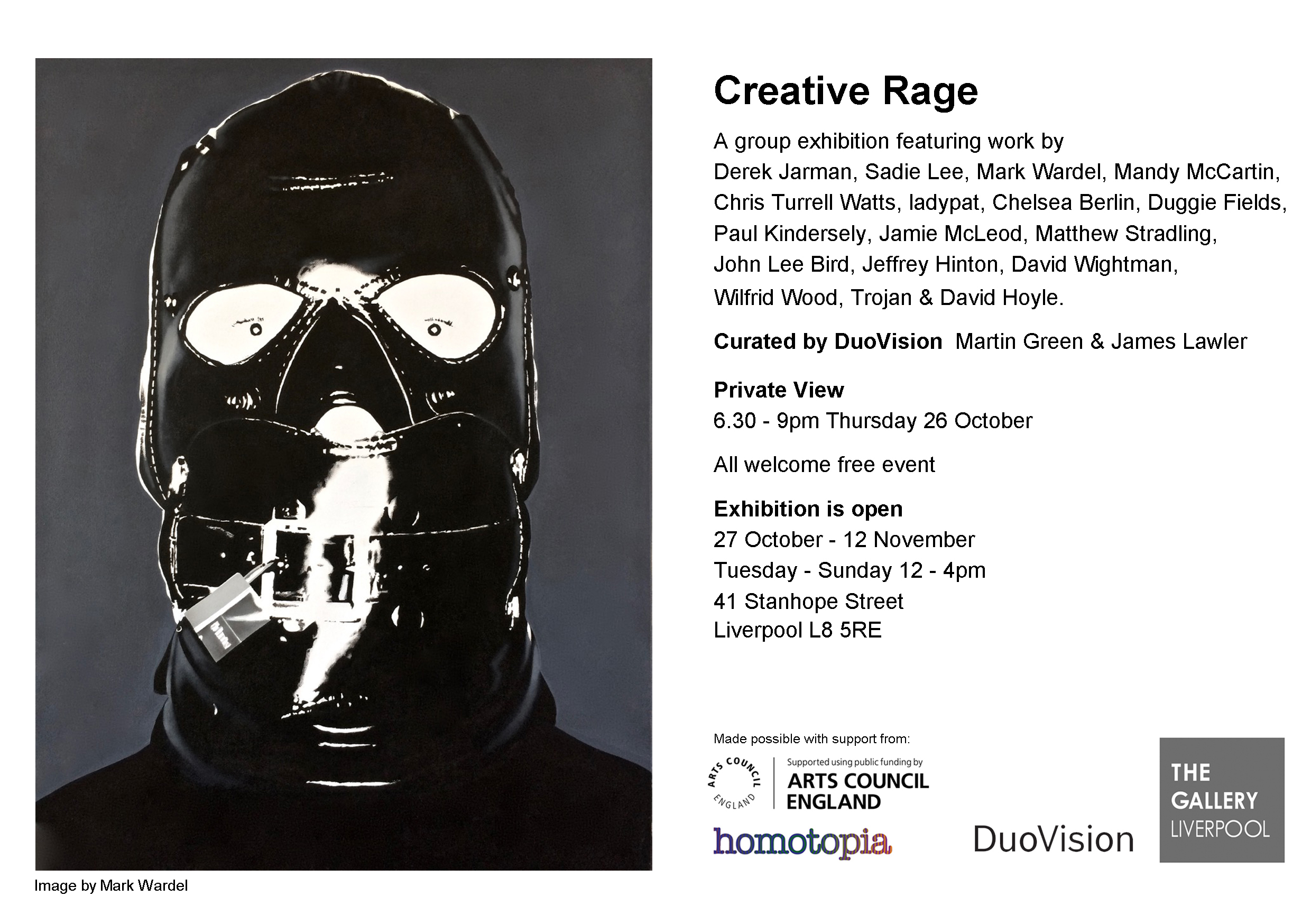 The Gallery Liverpool: Creative Rage