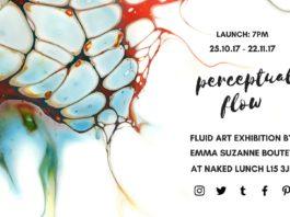Naked Lunch: Perceptual Flow -Fluid Art