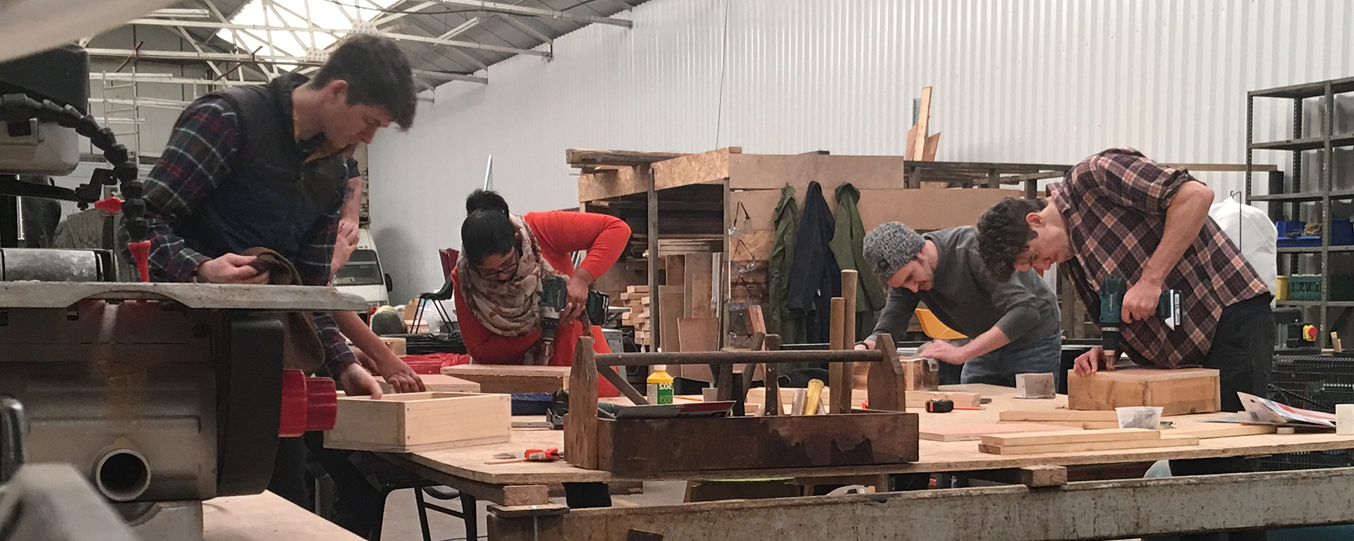 Make North Docks: LOST17: Liverpool Open Studios