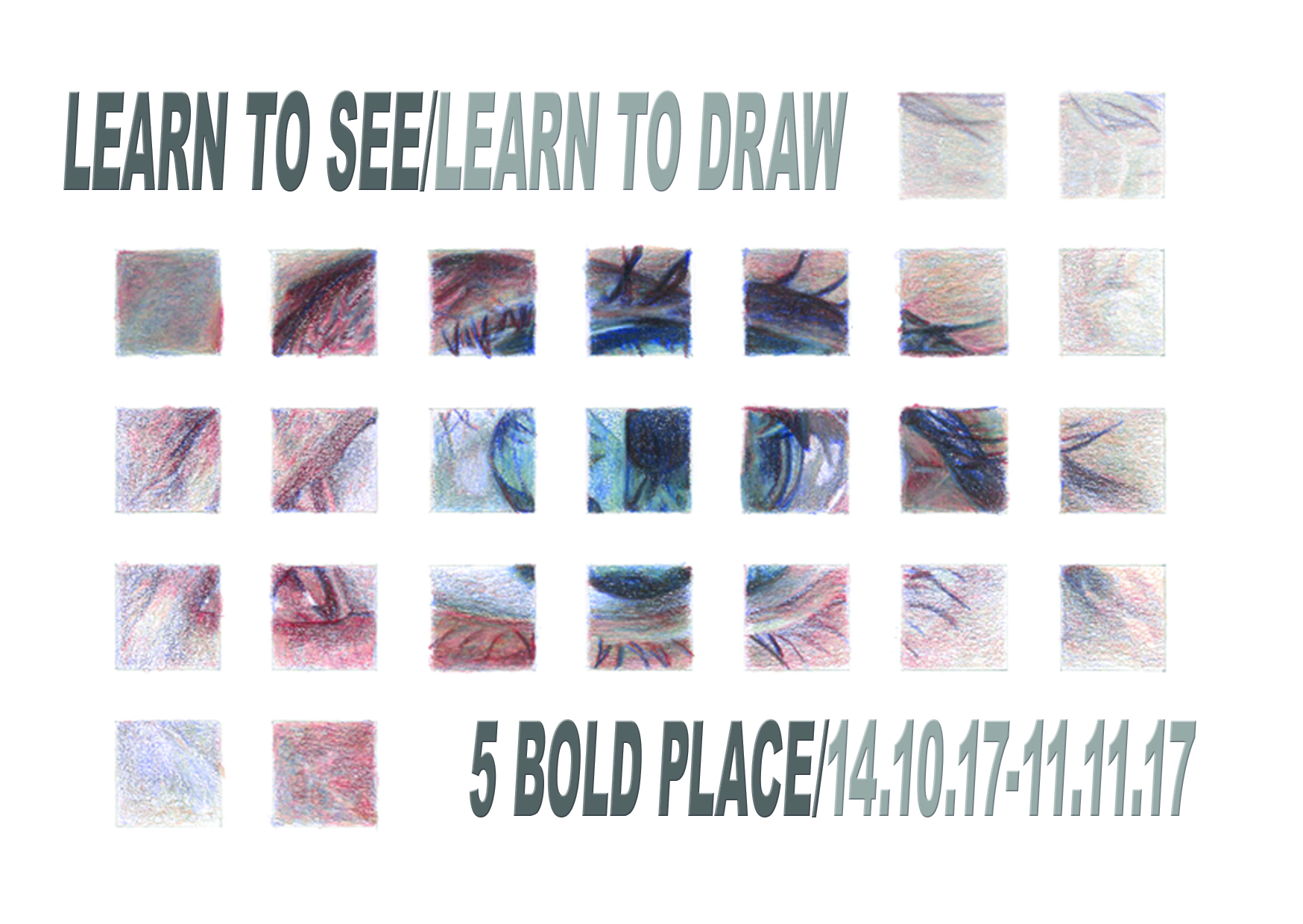Art in Windows: LOST17: Learn to See/Learn to Draw