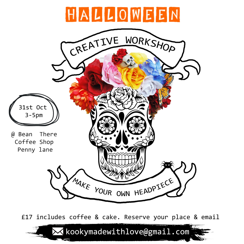Bean There Coffee: Halloween Headpiece Workshop