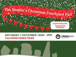 Calderstones Park: The Reader's Christmas Courtyard Fair