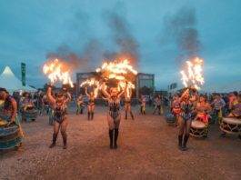 Floral Pavilion: Bring the Fire Project & Liver Drummers – Wirral