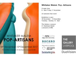 The Gallery Liverpool: Whitaker Malem Pop-Artisans