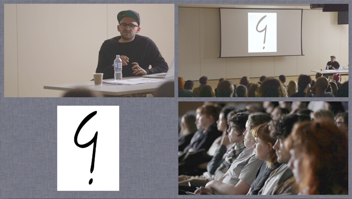 The Serving Library: Loose Associations Lecture: Ryan Gander