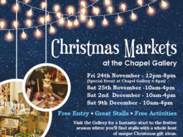 Chapel Gallery: Christmas Markets at the Chapel Gallery