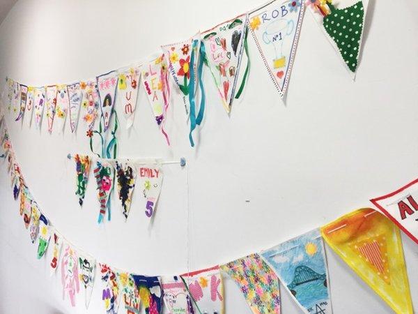 Tate Liverpool: Celebrate Me Bunting Workshop