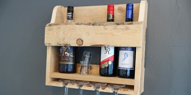 Make. North Docks: Introduction to Woodwork: Wine Rack