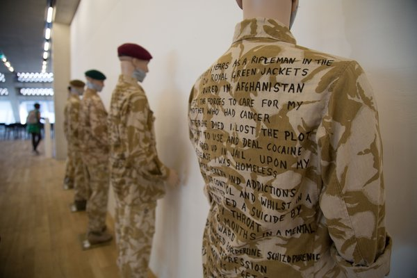 Tate Exchange: A Soldier's Story by David Tovey