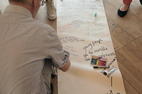 Tate Liverpool: A Soldier's Story by David Tovey: Workshop