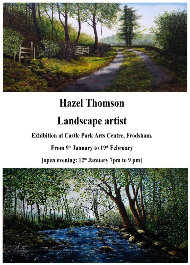 Castle Park Arts Centre: Hazel Thompson, Landscape Artist