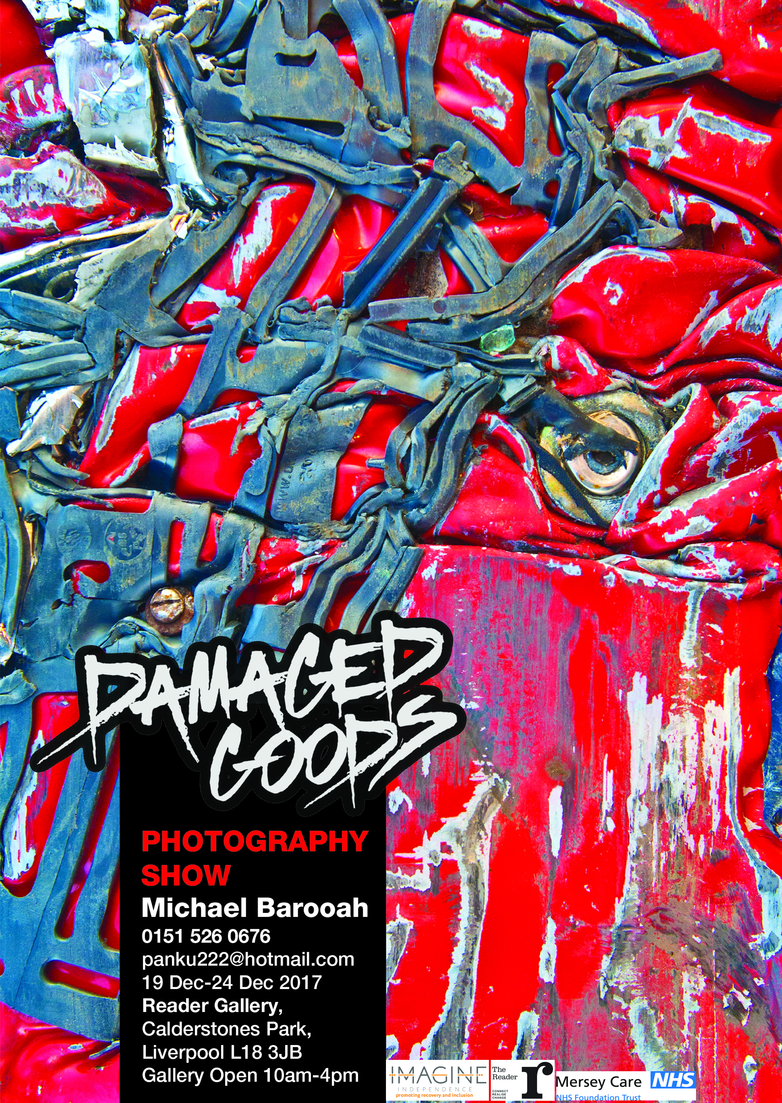 The Reader Gallery: Damaged Goods, Michael Barooah