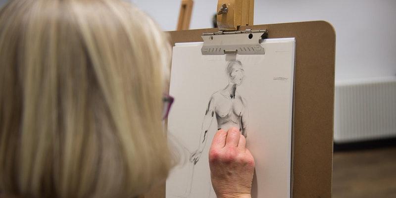 Bluecoat: dot-art, Life Drawing